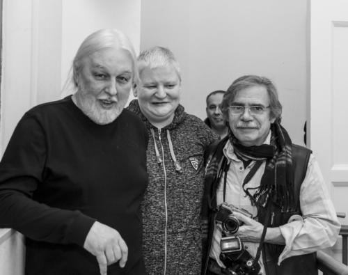 Сева Гаккель, Алексей Вишня, Андрей (Вилли) Усов